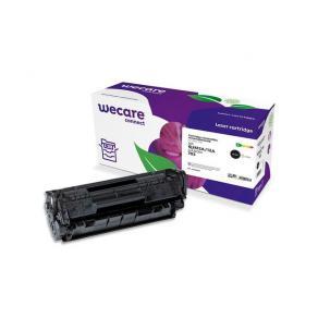 Toner WECARE HP Q2612A Svart 4000 sidor