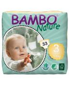 Blöja Bambo Nature 5-9kg 33/fp