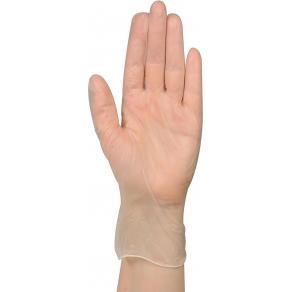 Handske vinyl puderfri L 100