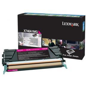 Lexmark - Magenta - original - tonerkassett