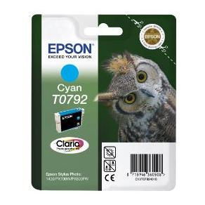 Epson T0792 - 11 ml - cyan - original - blister