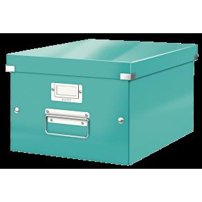 Förvaringslåda Medium Click & Store WOW Isblå, 6st