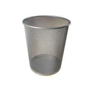 Papperskorg Nät Silver, metall, 15L