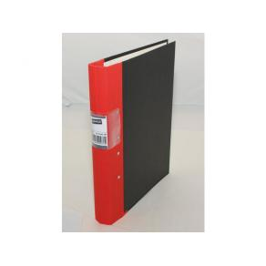 Gaffelpärm STAPLES A4 40mm röd