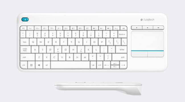Logitech Wireless Touch Keyboard K400 Plus d6239b26deddc