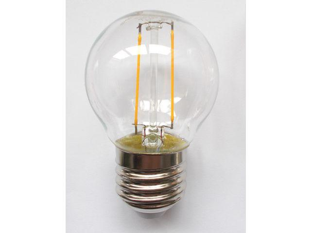 LED-lampa Klot E27 Klar 2W 250lm