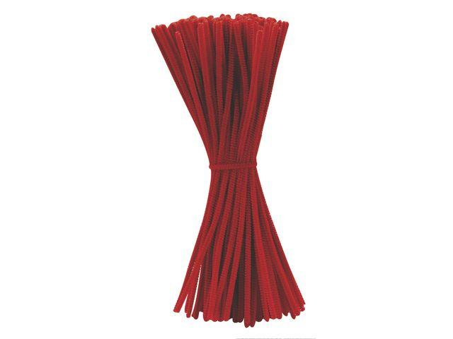 Piprensare Röd, 30cm, 100/fp