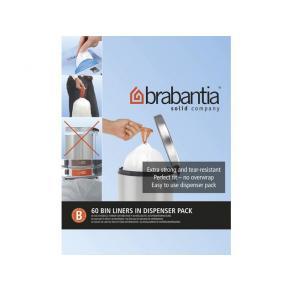 Avfallspåsar B Brabantia, dispenser 5L, 60st