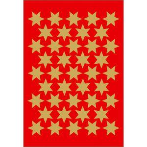 Herma stickers Decor stjärna ø14 guld (3) 10st