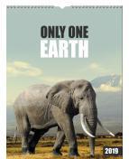 Väggkalender Only one earth