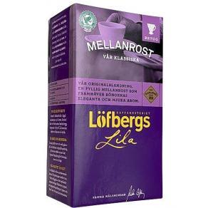 Kaffe och chokladpulver - Kaffe LÖFBERGS mellanrost brygg 500g