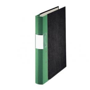 Gaffelpärm A4 Trärygg Grön, 40mm