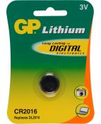 Batteri GP Lithium CR2016