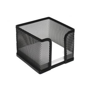 Blockask Nät Svart, metall, 10x10cm