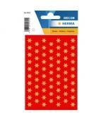 Herma stickers Decor stjärnor ø8 guld (3)