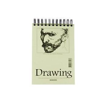 Teckningsblock A5 135g 40 blad 10st