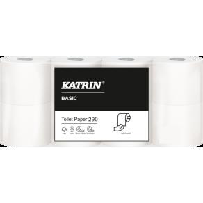 Toalettpapper KATRIN Basic 290ark, 2-lag, 36m, 64 rl/fp