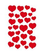 Herma stickers Magic hjärtan (1)