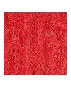 Serviett EDELWEISS 25cm rød (15)