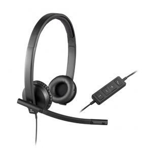 Headset Logitech H570E Stereo, USB