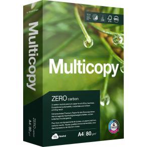 Kopieringspapper Multicopy Zero A4 80g, ohålat, 500/fp