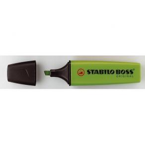 Överstrykningspenna STABILO Original Grön, 10st