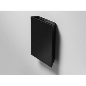 Förvaringsbox Lintex Air Pocket Sudd & Pennor, svart aluminium