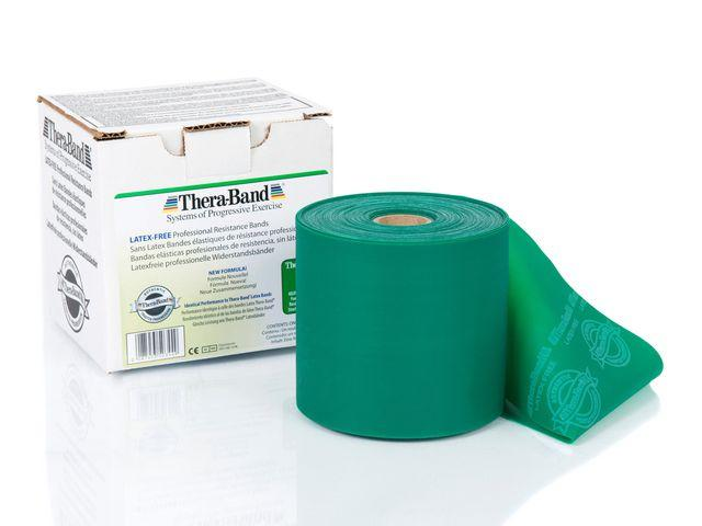 THERA-BAND Latexfri grön 22m