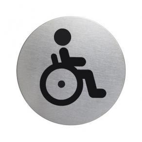 Skylt WC funktionshind DURABLE 83mm stå