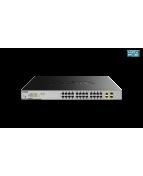 D-Link DGS 1026MP - Switch - ohanterad - 24 x 10/100/1000 (PoE)