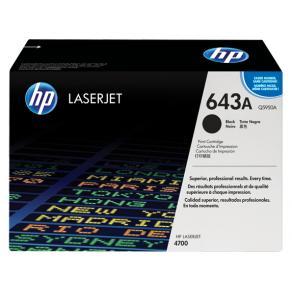 Toner HP Q5950A 643A Svart