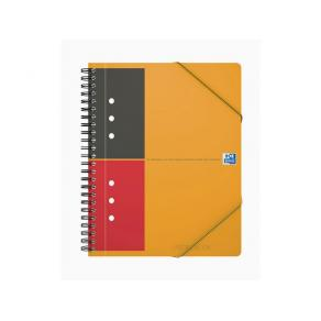 Anteckningsblock Oxford Meeting Book A5+, linjerat, 80g, 5st