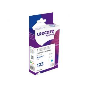 Bläckpatron WECARE BROTHER LC123C Cyan