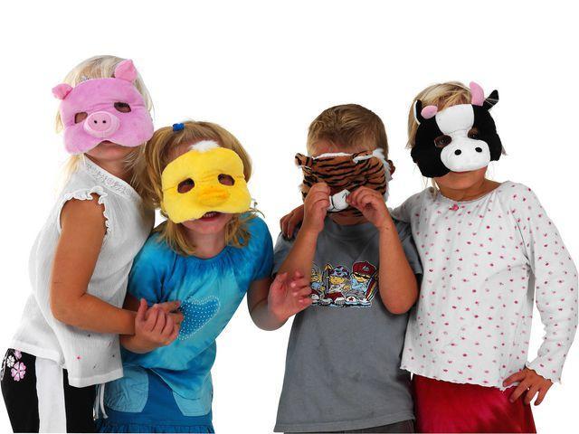 Ansiktsmasker Djur, 10/fp