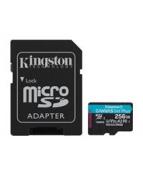 Kingston - Flash-minneskort (microSDXC till SD-adapter