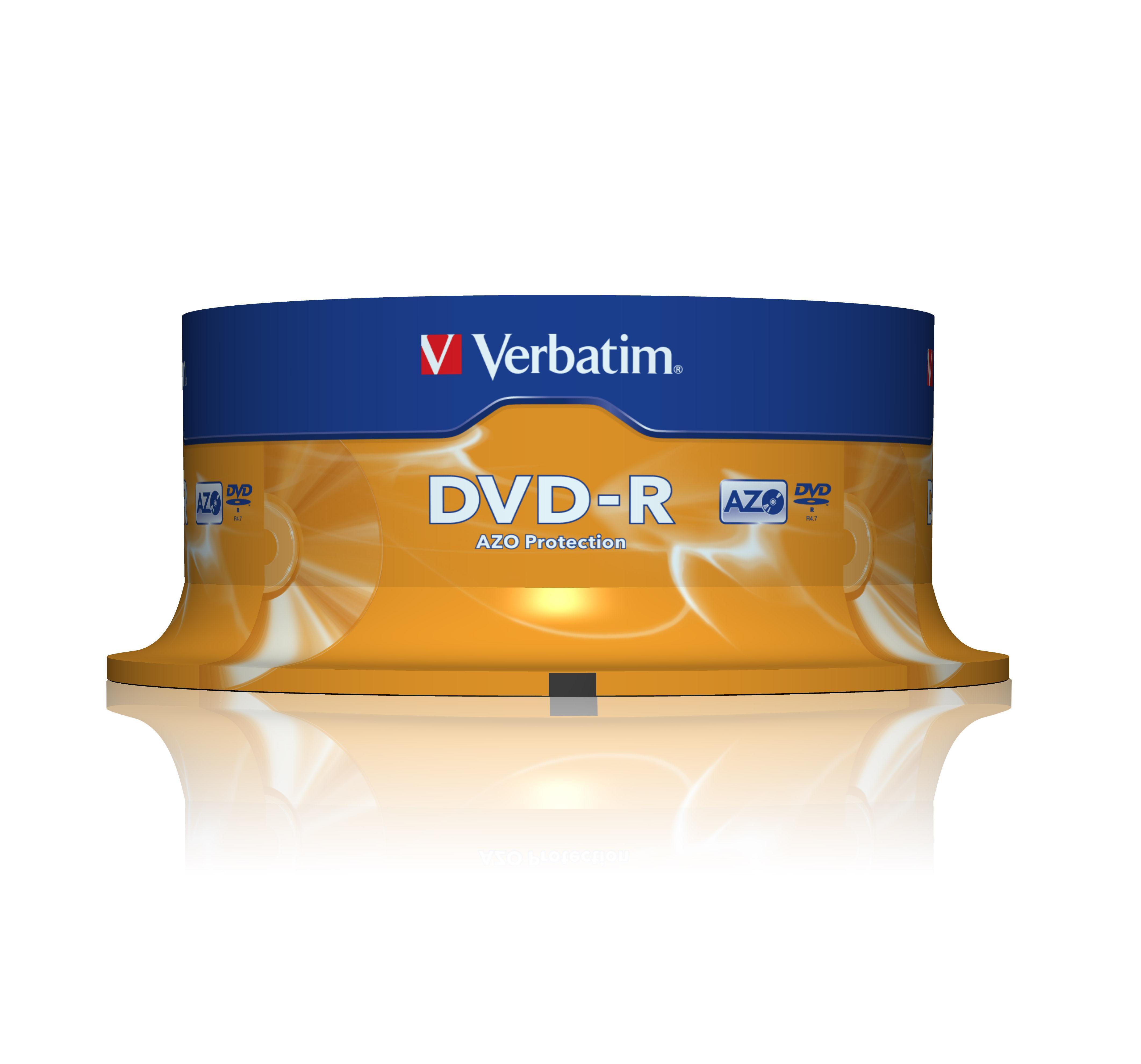 DVD-R Verbatim Cakebox, 4,7Gb, 25/fp