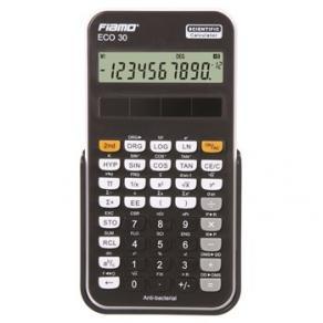 Fiamo Eco 30 Anti-bacterial Calculator, Black