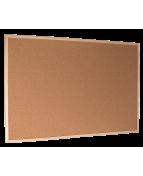 Anslagstavla kork/trä 40x60 enkelsidig