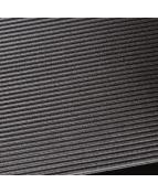 Rib Step  0,91x32m svart