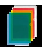 Aktmapp A4 flera färger, kopiesäker, 0,12mm, 10/frp