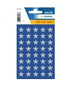 Herma stickers Decor stjärna silver (3)