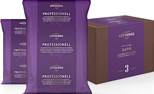 Kaffe Löfbergs mörkr 60x100g