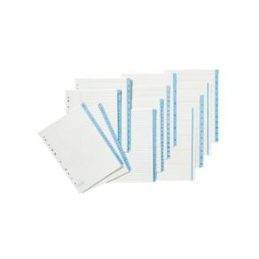 Pappersregister A4 1-52 5/FP