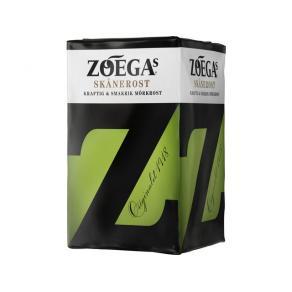 Kaffe och chokladpulver - Kaffe Zoegas Skånerost mörkrost 450g malet