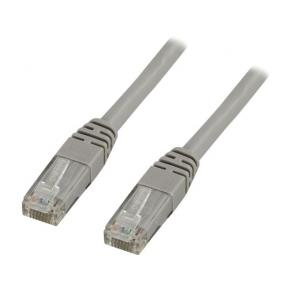 Kabel nätverk UTP Cat6, grå, 25m