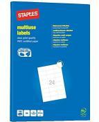 Etikett STAPLES 70x37mm 2400/FP