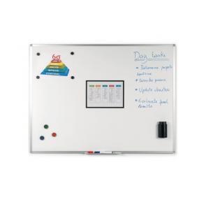 Whiteboard STAPLES emalj 90x60cm