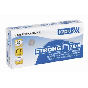 Häftklammer Rapid 26/6 Strong, 30ark, 5000/fp