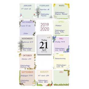 Klassens almanacka 2018-19