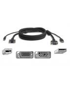 Belkin OmniView All-In-One Pro Series Plus - Video/USB-kabel